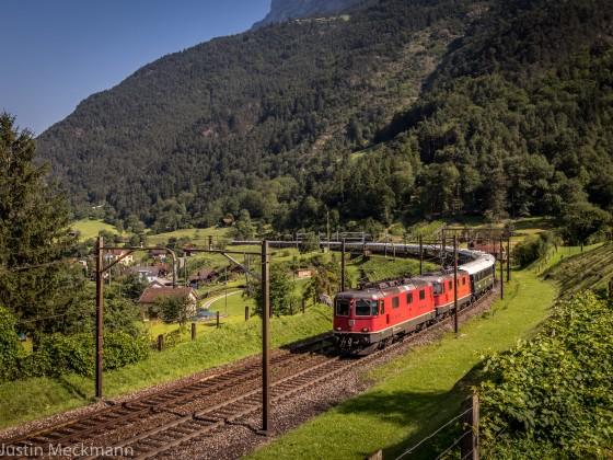 Züge am Gotthard - 04.08.17