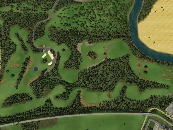 Prignitz - Golfplatz #4 Gesamtansicht