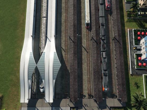 Bahnhofserweiterung