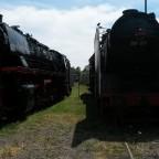 BR44 und BR06 im Bahnpark Augsburg