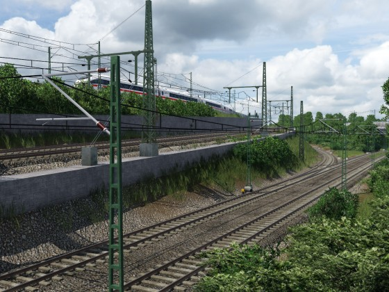 ICE 3 nach Frankfurt Hauptbahnhof