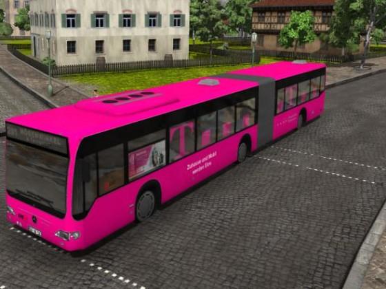 Testphase der neuen Citaro Telekombusse