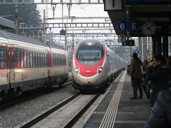 ETR 610 als EC nach Zürich HB