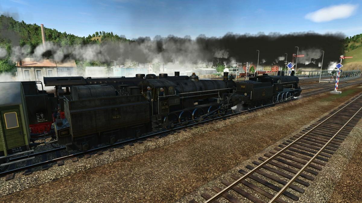 Mürzzuschlag: Güterzüge warten auf die Ausfahrt