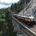Der ET89 Rübezahl auf dem Weg durchs Riesengebirge.
