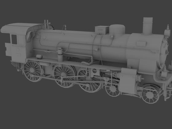 Baureihe 38 KPEV - rechte Seite