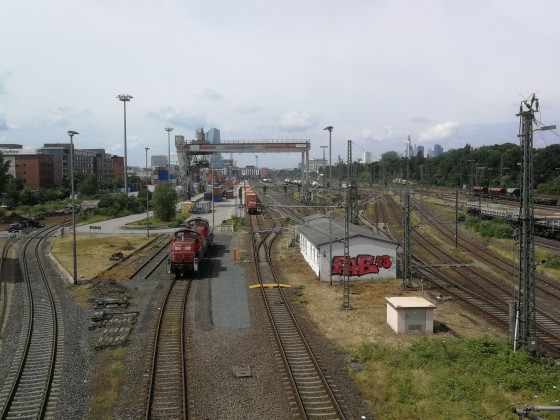 Frankfurt Ost: Umschlagbahnhof