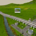 Zug in voller Fahrt