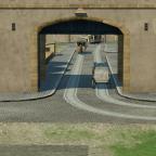 Einfahrt in Den Betreibshof