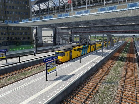 Bahnhof Amsterdam Sloterdijk