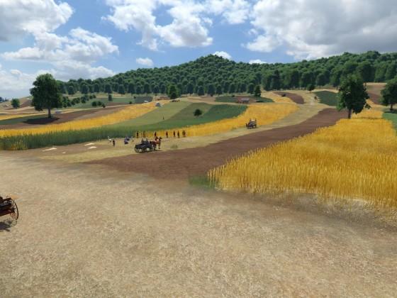 Landwirtschaft um 1900