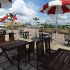 Restaurant im Hafen von Outrémont