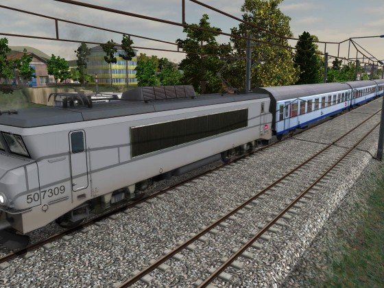 "BB7309 in the grey ""ghost"" livery"
