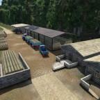 02 Holzfällerhütte Einfahrt