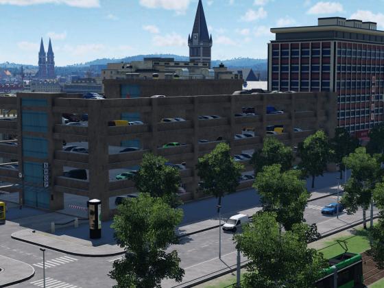 Parkhaus am Westbahnhof