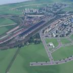 Betriebswerke mit Ausfahrten vom HBF