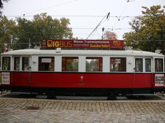 Typ M Nr. 4077 beim ersten Fotohalt
