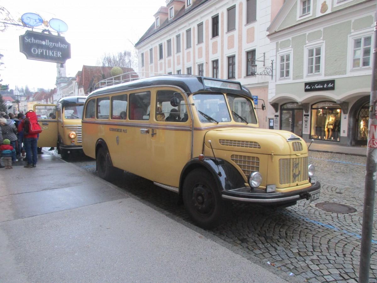 historischer Postbus
