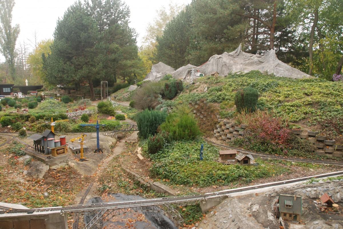 Gartenbahn im Heizhaus