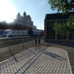 Trainspotting am Bahnhof Guben