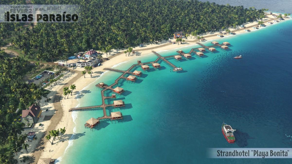 """Strandhotelanlage """"Playa Bonita"""""""