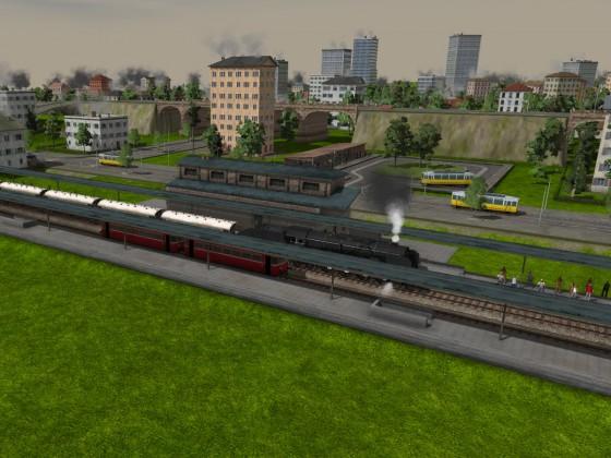 Nebenbahnhof in Kornwestheim