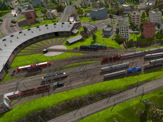 Maltby Betriebswerk und Vorfeld West (SSW)