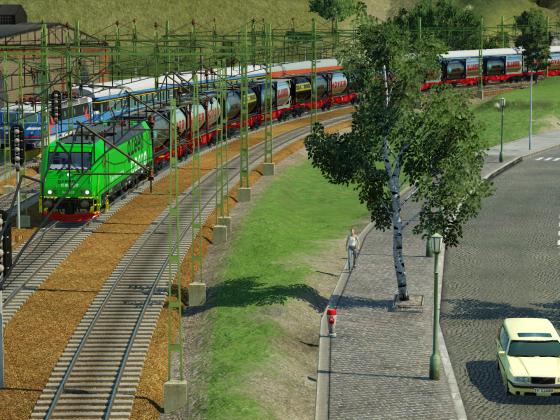 Green Cargo Re with Intermodal cargo
