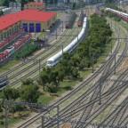 Gleisvorfeld Hauptbahnhof Freifeld (NORD) und S-Bahn-Betriebswerk Freifeld
