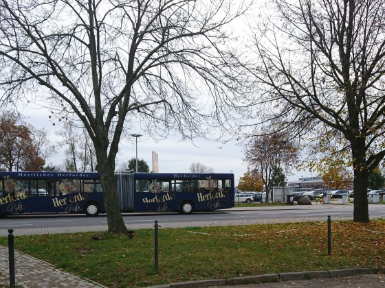 Unser Bus für den Samstag.