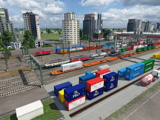 Es können wieder viele Güter umgeladen und transportiert werden!