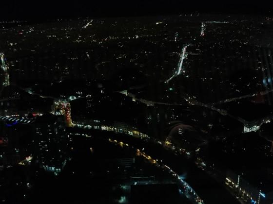 Blick aus dem Reataurant im Fernsehturm.