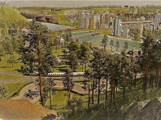 Wallenstein Postkarte