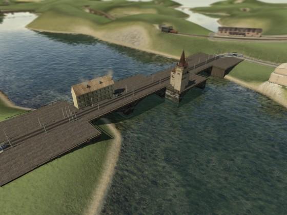 Brückengestaltungsidee