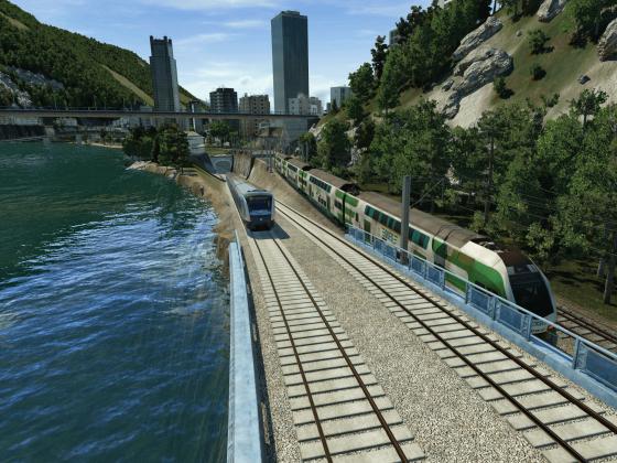 Die neue U-Bahn Interlaken