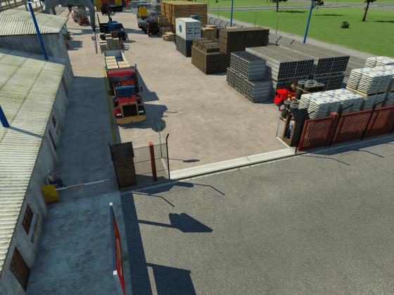 Ausfahrtsbereich Güterbahnhof