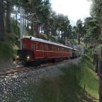 Der ET89 Rübezahl auf dem Weg durchs Riesengebirge