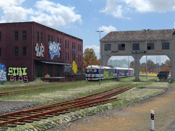 Verlassener Güterbahnhof