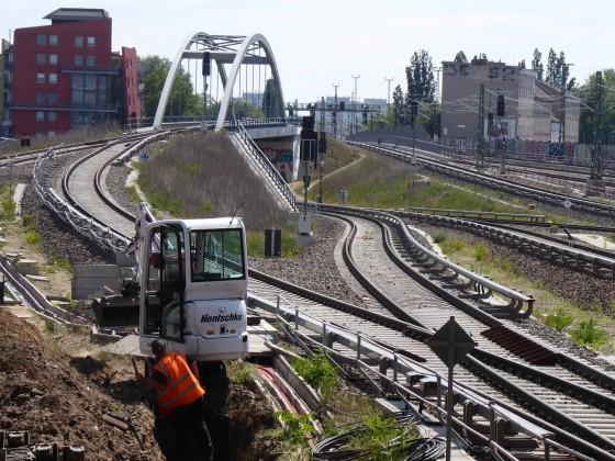 Berlin Ostkreuz Einfahrt Ost 2