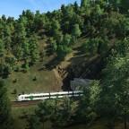 RB51 kurz nach dem Rosensteintunnel