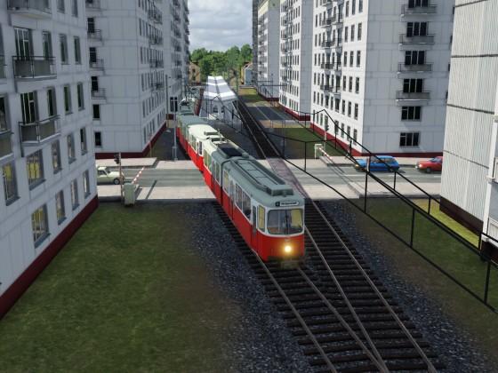 Vorort Stadtbahnlinie