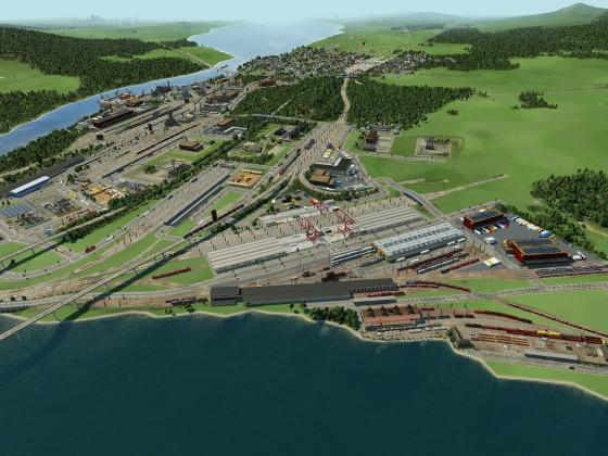 Die 2 Ausbaustufe vom Mega Güterbahnhof ist da!