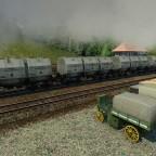 Wagen für Kohle und Schlacke