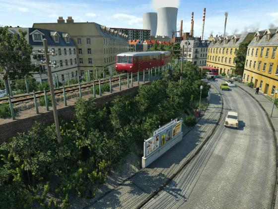 Ostalgie - Quer durch die Stadt