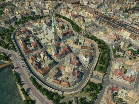 Jägerndorf - Altstadt (unbearbeitet)