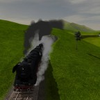 BR 44 3-fach Traktion auf Bergfahrt mit 2000t Zug