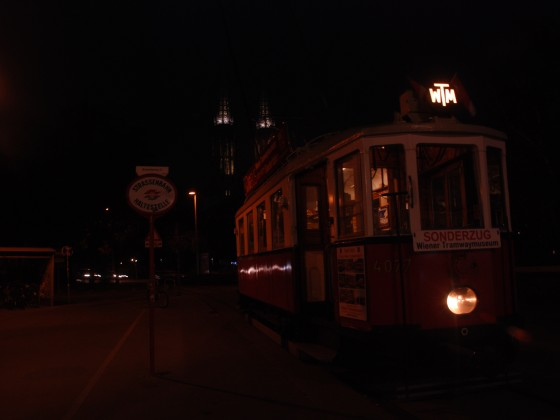 Historische Straßenbahnfahrt