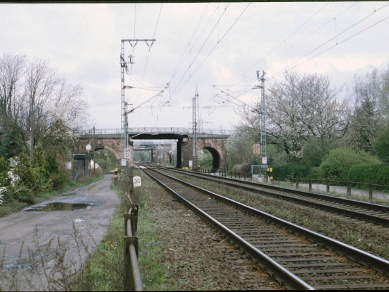 Bahnlinien nahe Wiesbaden
