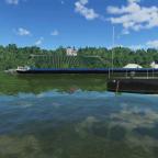 [TpF 1] Schiffverkehr am großen Fluss im Kanton Kronmark