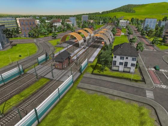 Bahnhof c